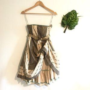 Edme & esyllte | Anthropologie strapless dress